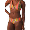 Culotte de bikini Marta Rayure soleil cactus