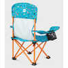 Camp Together Camp Chair Optic Blue Paint Mark Print