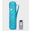 Chaise Camp pour enfants Bleu optique/imprimé taches de peinture