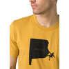 Social Climber Journeyman T-shirt Marigold Heather