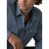 Garvan Long Sleeve Top Antique Blue
