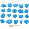 Double Disks Footholds 20 Pack Blue