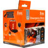 Emergency Bivy Sack with Rescue Whistle Orange
