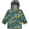 Aquanator Jacket Green Olive Through The Jungle Print
