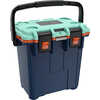 Elite Cooler 20QT Pacific Blue/Seafoam/Orange