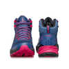 Rush Mid Gore-Tex Light Trail Shoes Blue/Fuxia