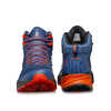 Rush Mid Gore-Tex Light Trail Shoes Blue/Fiesta