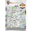 Okanagan Valley& Shuswap BC Waterproof Map