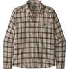 Fjord Lightweight Flannel Shirt Grange: Pumice
