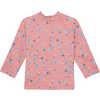 Shadow Long Sleeve Sun Shirt Power Pink Paint Mark Print