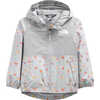 Zipline Rain Jacket Meld Grey Winged Things Print