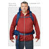 Katmai 65 Plus Size Backpack Empire Blue
