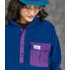 Anniversary Polarplus Pullover Blue Ink/Regal Purple