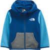Glacier Full Zip Hoodie Limoges Blue
