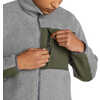 Fireside Fleece Jacket Dark Grey Heather/Pine
