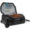 Chasm 40L Wheeled Carry On Duffle Black