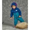 Chandail en laine polaire édition anniversaire Encre bleue/Épinette bleue