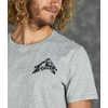 Anniversary Fair Trade Short Sleeve T-Shirt Grey Heather Adventure Climb Graphic