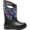Neo Classic Waterproof Insulated Boots Real Flowers