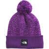 Chevron Pom Beanie Gravity Purple/Sweet Lavender