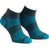 Chaussettes double épaisseur Coolmesh II Cendre/Turquoise