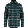 Skog Shirt Arctic Green Dark Navy