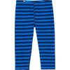 Bambini Bottoms Moonlight Blue Wide Stripe Print