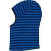 Balaclava Moonlight Blue Wide Stripe Print