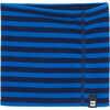 Neck Gaiter Moonlight Blue Wide Stripe Print
