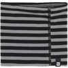 Neck Gaiter Black Wide Stripe Print