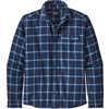 Fjord Lightweight Flannel Shirt Grange: New Navy