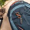 Dual Carabiner SlideLock 3 Orange